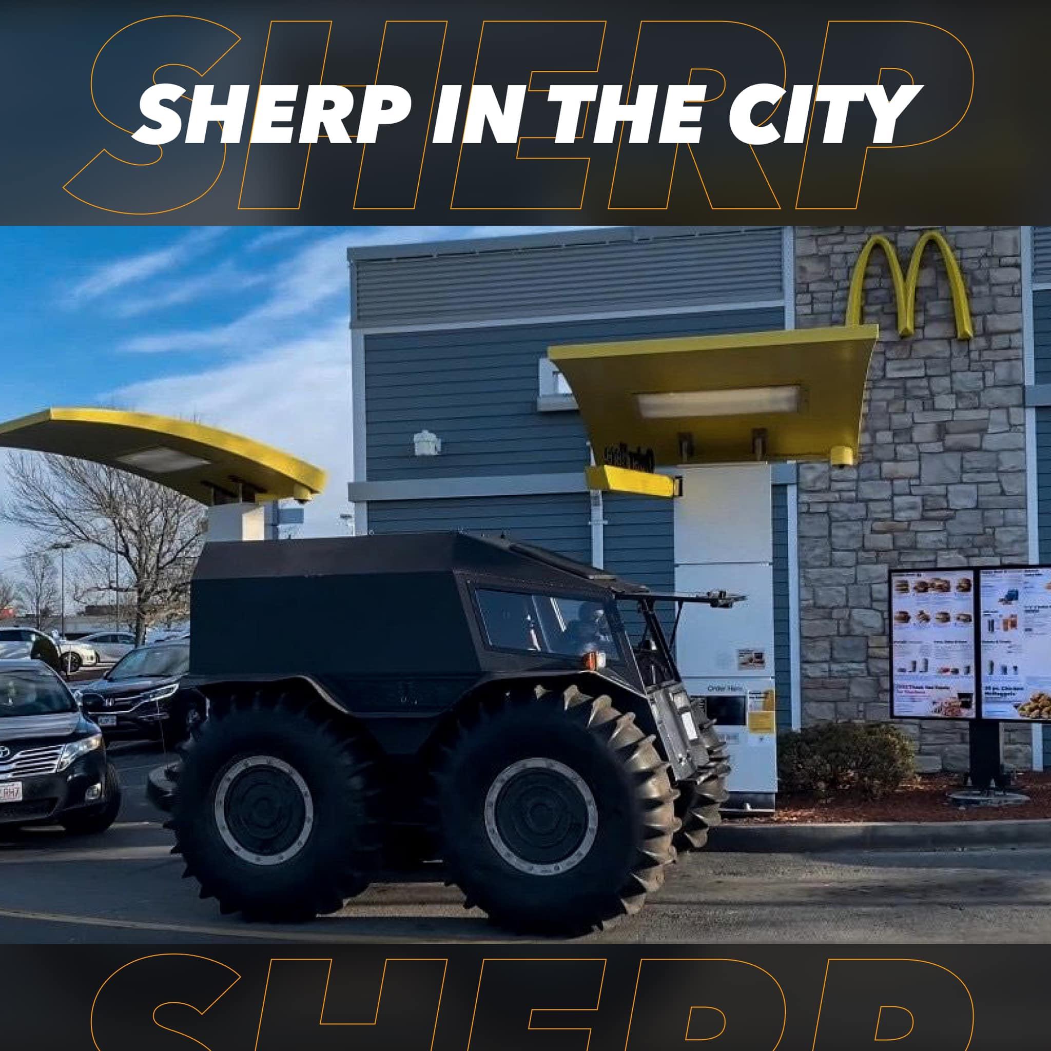 Rich Rebuilds drives SHERP to drive-thru