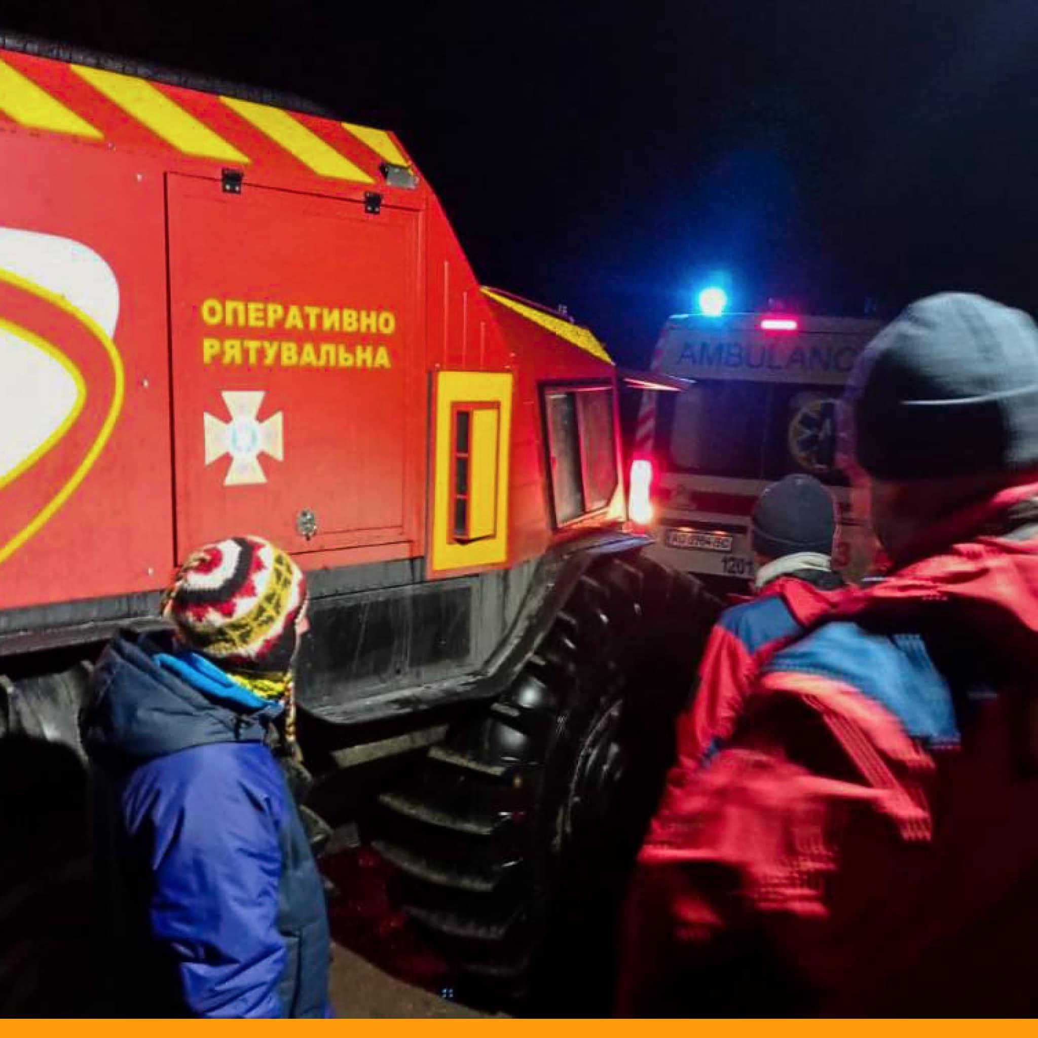 SHERP helps rescuers of Ukraine again