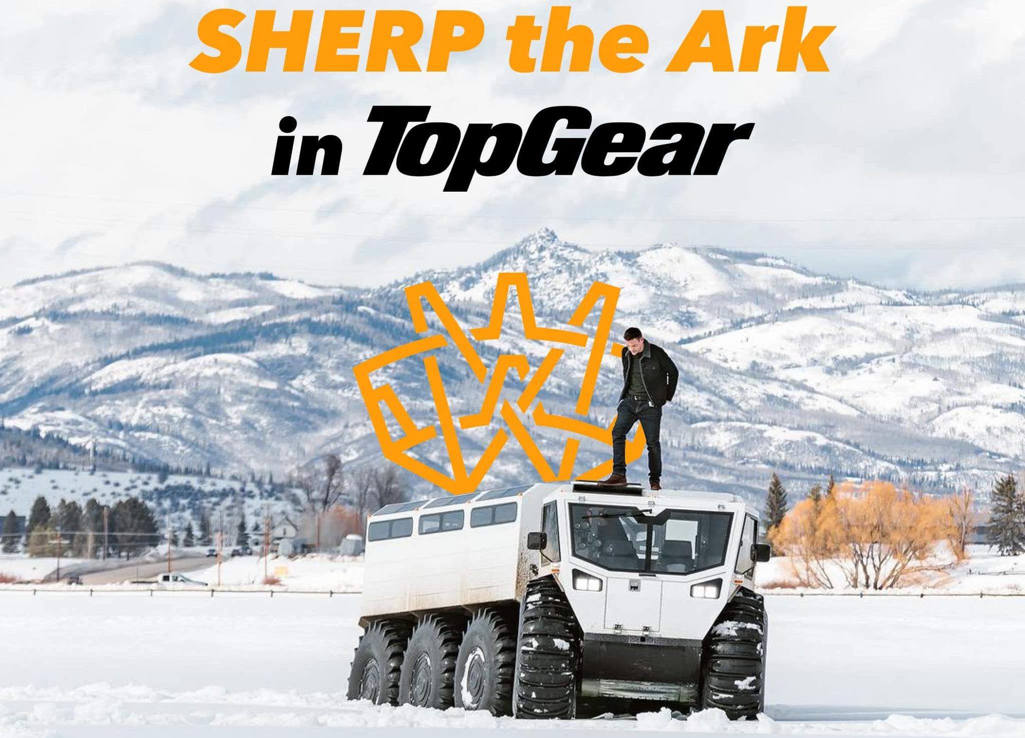 The Ark 3400 in the Top Gear America