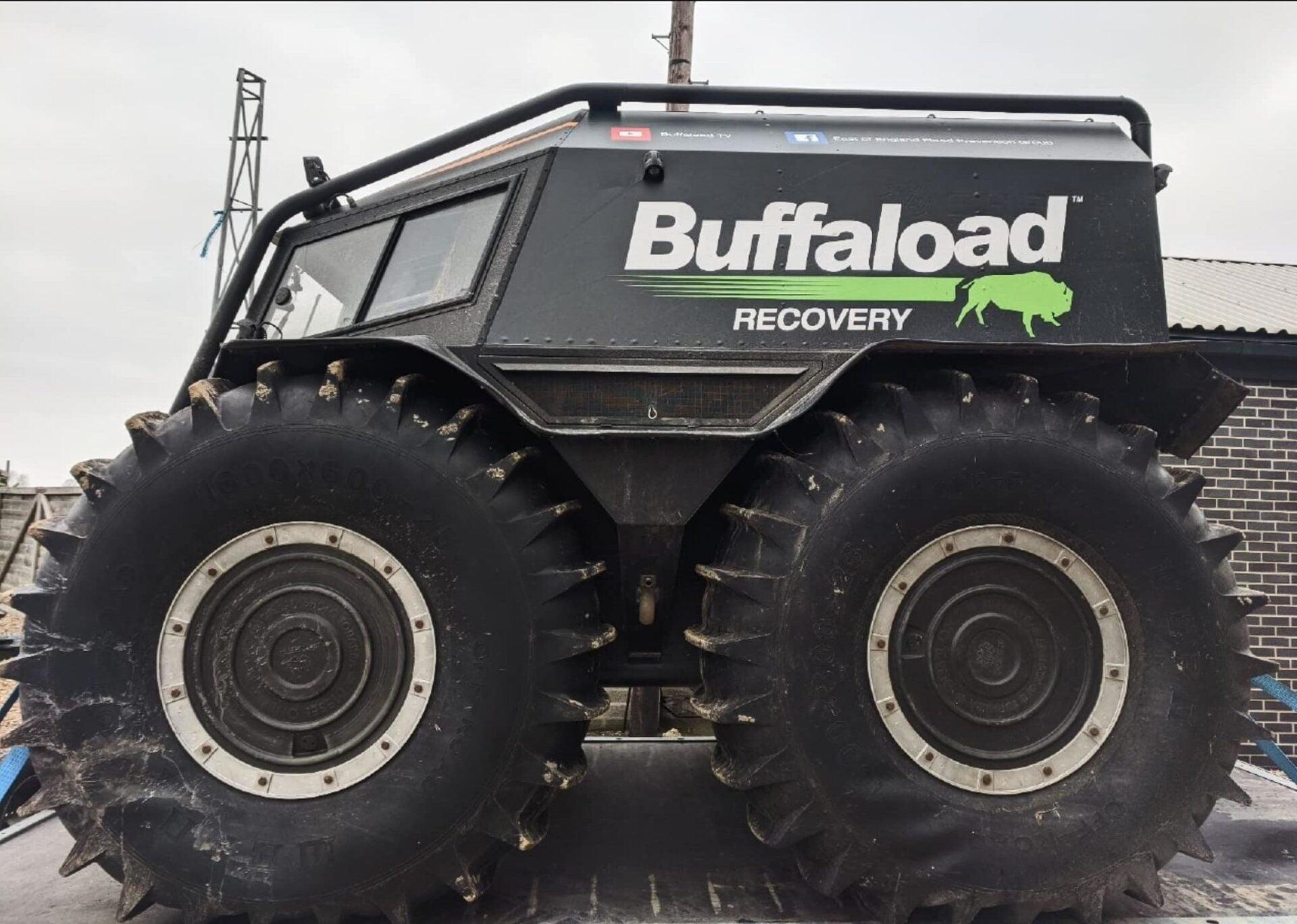 SHERP Pro 1000 for Buffaload Recovery