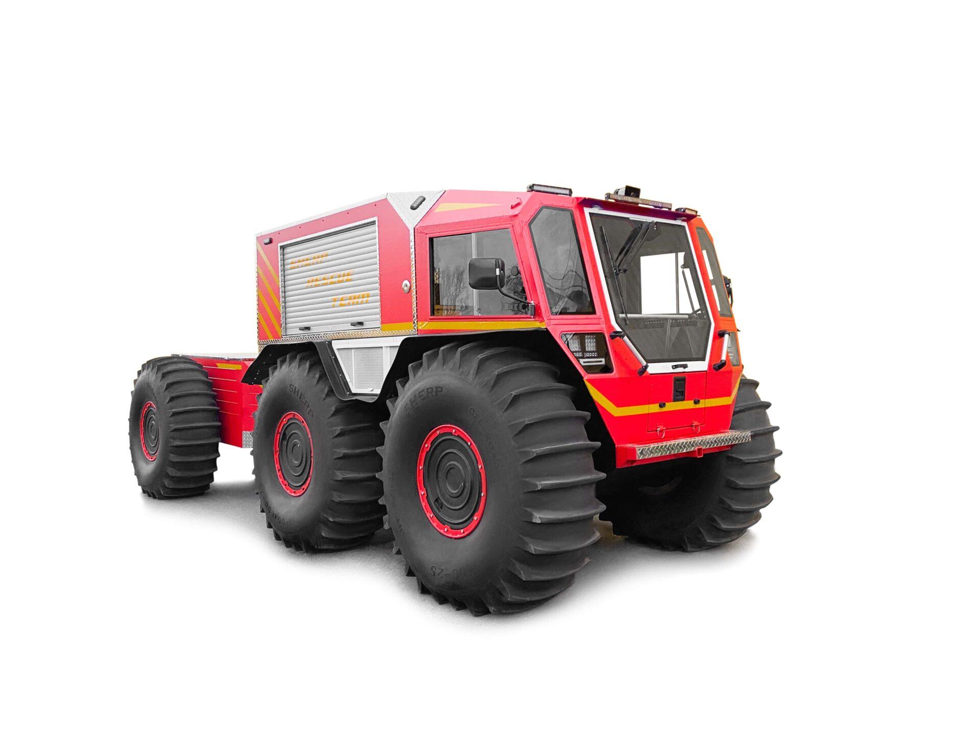 Meet the new SHERP Firefighting UTV